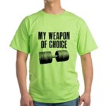I love a gym where everyone k Green T-Shirt