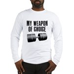 I love a gym where everyone k Long Sleeve T-Shirt