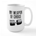 I love a gym where everyone k Large Mug