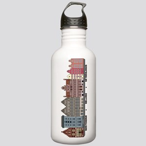 Amsterdam Netherlands Stainless Water Bottle 1.0L
