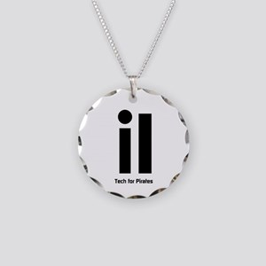 iI Tech for Pirates Necklace Circle Charm