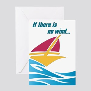 Get Rowing Greeting Card