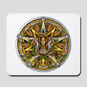 Lammas/Lughnasadh Pentacle Mousepad