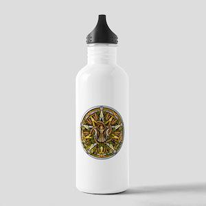Lammas/Lughnasadh Pentacle Stainless Water Bottle