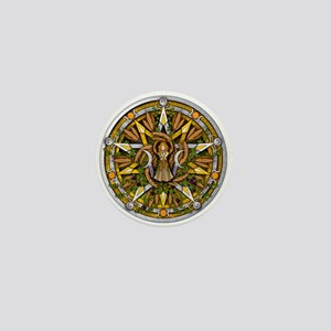 Lammas/Lughnasadh Pentacle Mini Button
