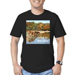 Pony men's fitted T-shirt (dark)