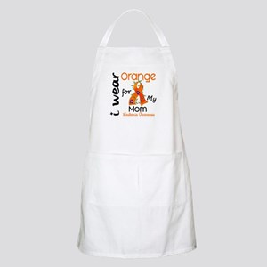I Wear Orange 43 Leukemia Apron