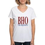BHO The President Women's V-Neck T-Shirt