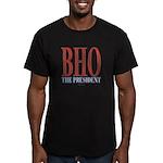 BHO The President Men's Fitted T-Shirt (dark)