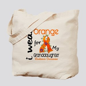 I Wear Orange 43 Leukemia Tote Bag