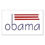 obama Sticker (Rectangle 10 pk)