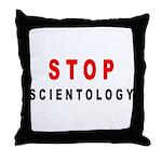Scientology Throw Pillow