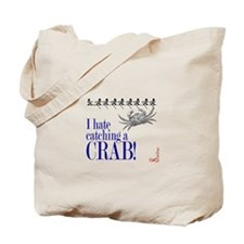 Catching a Crab 2 Tote Bag