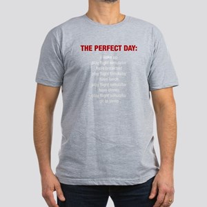 Perfect FS Day Men's Fitted T-Shirt (dark)