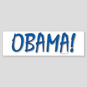 Obama (zepher) Sticker (Bumper)