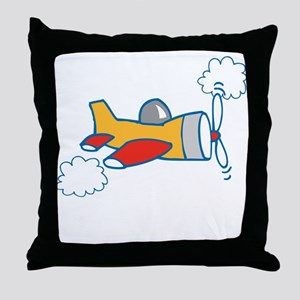 Big Airplane Throw Pillow