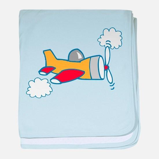 Big Airplane baby blanket