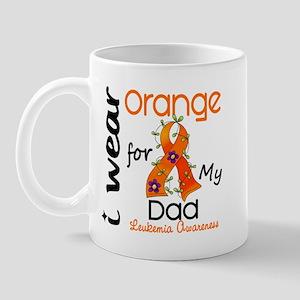 I Wear Orange 43 Leukemia Mug