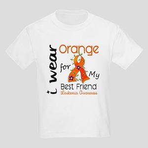 I Wear Orange 43 Leukemia Kids Light T-Shirt