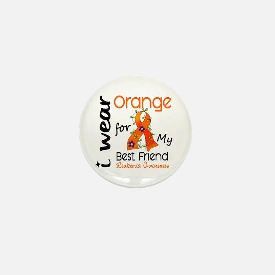I Wear Orange 43 Leukemia Mini Button