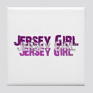 Jersy Girl Tile Coaster