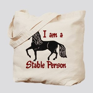 Stable Person Tote Bag