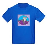 Snow Leopard Kids Dark T-Shirt