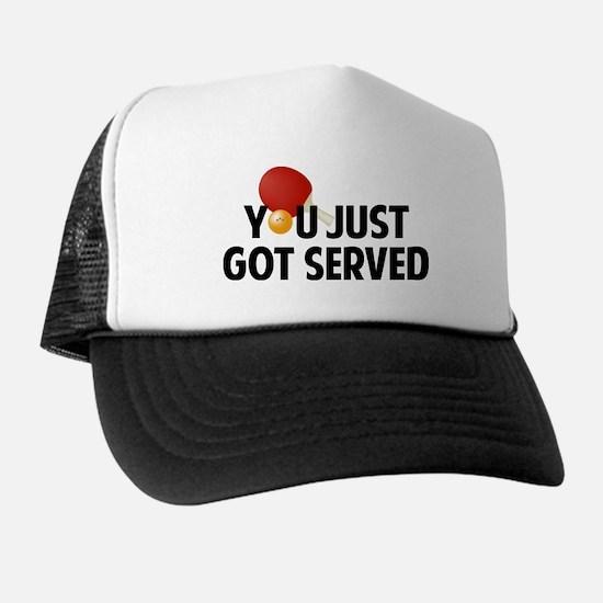 Got served - Table Tennis Trucker Hat