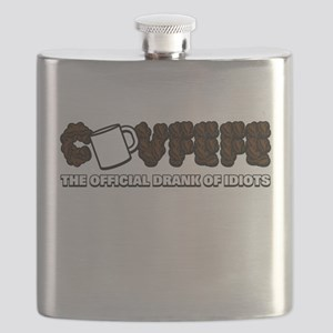 Covfefe Official Drank of Idiots Flask