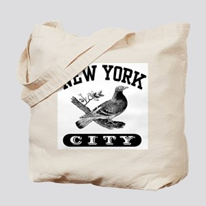 New York City Pigeon Tote Bag