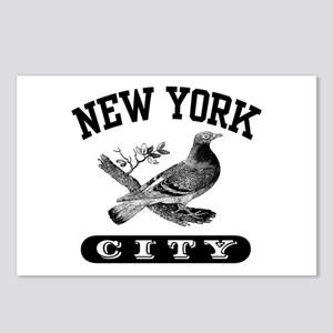 New York City Pigeon Postcards (Package of 8)