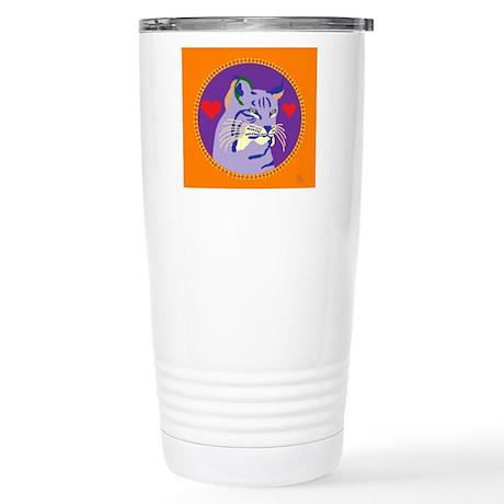 Bobcat Stainless Steel Travel Mug