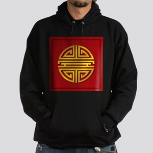 Chinese Longevity Sign Hoodie (dark)