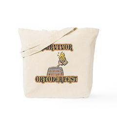 Oktoberfest Survivor Tote Bag