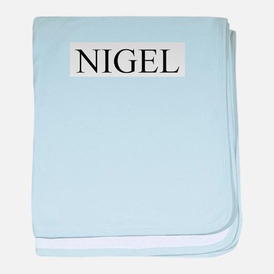 Nigel baby blanket