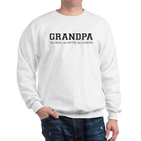 Grandpa The Man Myth Legend Sweatshirt
