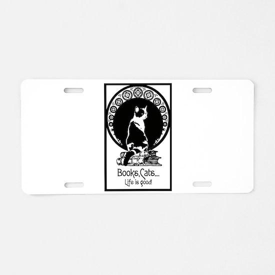 Cool Calico Aluminum License Plate