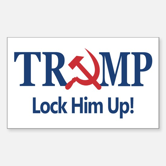 Lock Him Up Decal