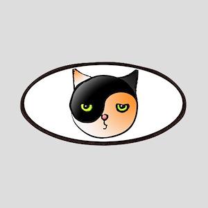 Ying Yang Yin Yang Cat Calico Patches