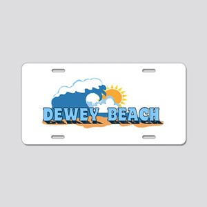 Dewey Beach DE - Waves Design Aluminum License Pla