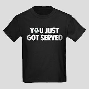 Got served - Soccer Kids Dark T-Shirt