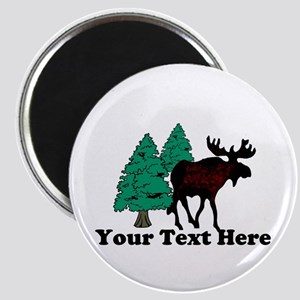 Personalized Moose Magnet