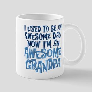 Awesome Dad Now Awesome Grandpa Mug