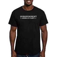 IAP Men's Fitted T-Shirt (dark)