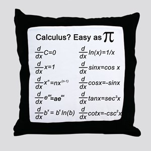 Math Throw Pillow