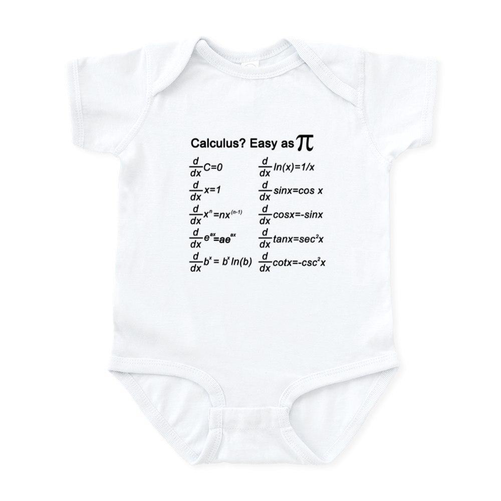 CafePress-Math-Infant-Bodysuit-Cute-Infant-Bodysuit-Baby-Romper-558031553 thumbnail 3