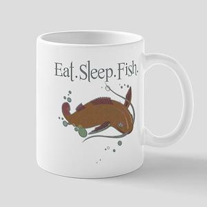 Eat.Sleep.Fish. 11 oz Ceramic Mug