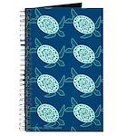 Sea Turtles Fabric Journal