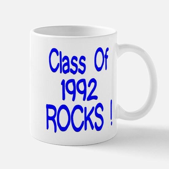 1992 Blue Mug