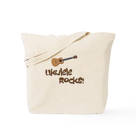 Ukulele Rocks! Tote Bag